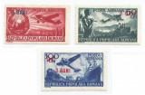 România, LP 319/1952, Aviaţe - valori mari (supratipar), MNH