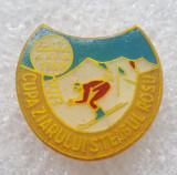 Insigna sport - Cupa Ziarului Steagul Rosu - Aluminiu