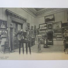 Muzeul Simu/Bucuresti,carte postala necirculata cca 1910