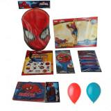 Pachet party Spiderman, Radar SPIDER, set 58 piese