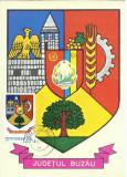 TSV - MAXIMA BUZAU - STEMA JUDETULUI HERALDICA `78 STAMPILA 2