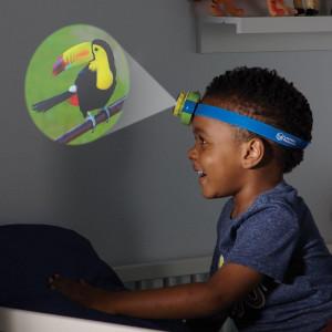 Proiector 2 in 1 - Lanterna de cap
