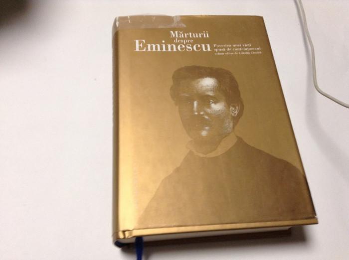 Marturii despre Eminescu. Povestea unei vieti spusa de contemporani,rf14/2