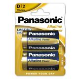 BATERIE ALCALINA PANASONIC BRONZE LR20 2B/BL