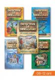 Pachet Detectivii de dinozauri, Set 5 carti, Curtea Veche