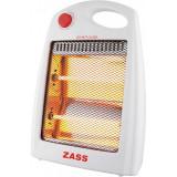 Radiator quartz Zass, 800 W, 2 trepte, protectie la supraincalzire, protectie la rasturnare
