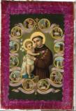 Icoana catolica Sfantul Anton litografiata