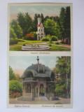 Vatra Dornei,carte postala cirulata 1933