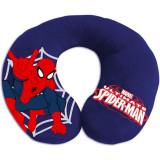 Perna pentru gat Spiderman Eurasia, Anatomica, Albastru
