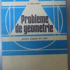 PROBLEME DE GEOMETRIE PENTRU CLASELE VI-VIII , 1982