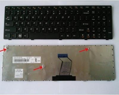 Tastatura Laptop Lenovo B590 Neagra US foto