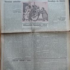 Ziarul Curentul , Dir. Pamfil Seicaru , 28 Mai 1939 , Tabara de munca legionara