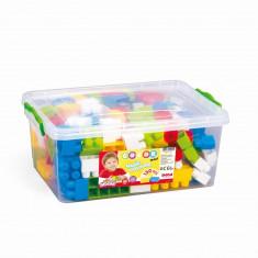Cutie depozitare cu 130 cuburi PlayLearn Toys