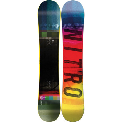 Placa Snowboard Nitro Cinema 159 2020 foto