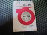 reclama veche la loto 3 din 75 c acte