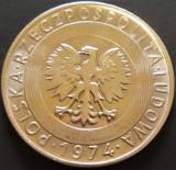 Moneda 20 ZLOTI - POLONIA, anul 1974  *cod 4651 - UNC