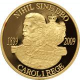 uncie aur ,BNR .24 k,31 gr.--170 de ani de la naşterea regelui Carol I