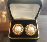Cercei Christian Dior vintage clips