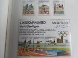 serie timbre Jocurile Olimpice JO nestampilate
