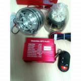 Sistem boxe cu mp3 player si kitt alarma pentru motociclete