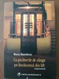 Ca picaturile de sange pe linoleumul din lift- Maria Manolescu