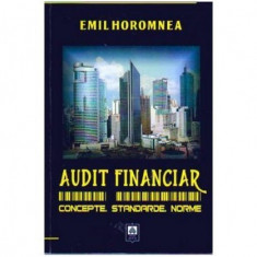 Audit financiar. Concepte, standarde, norme