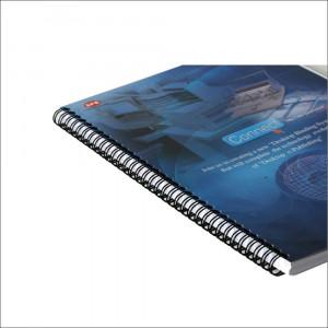 Spire metalice cu pas 2:1 pentru indosariere A4 diametru 22.2 mm, set 50bucati
