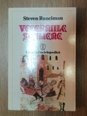 VECERNIILE SICILIENE-STEVEN RUNCIMAN BUCURESTI 1993 foto
