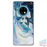 Husa Huawei Mate 30 Pro TPU Marble Pattern Albastra