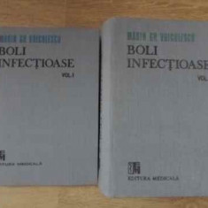 BOLI INFECTIOASE VOL 1+2 MARIN GH.VOICULESCU