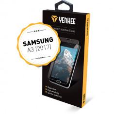 Yenkee, Tempered Glass, Folie protectie sticla securizata Samsung Galaxy A3 Editia 2017