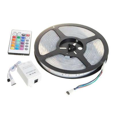 Kit banda LED 300 RGB ,telecomanda si sursa, 5 metri foto