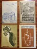 Lot 4 CARTI POSTALE ITALIA - invitatii la expozitii filatelice (1945-1947), Ambele, Printata, Europa