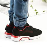 Cumpara ieftin Pantofi Sport De Copii Trendy Negru cu Rosu 36 Negru cu Rosu