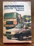 Automobilul Constructie. Functionare, Depanare - D. Cristescu, V. Raducu