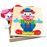 Puzzle Din Lemn Imbraca-L Pe Fredo, Bino