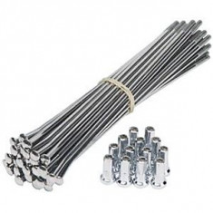 Spita otel argintii 302 mmPB Cod:HTI-12333, Jante/spite/nipluri
