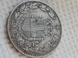 Italia 2 lire 1884 argint