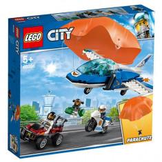 LEGO City - Arest cu paraautisti al politiei aeriene 60208