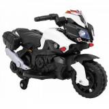 Motocicleta electrica pentru copii, cu sunete SkyBike, Alb