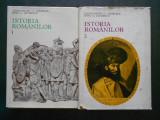 CONSTANTIN C. GIURESCU - ISTORIA ROMANILOR 2 volume {1974}