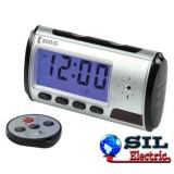 Spy cam clock
