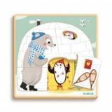 Puzzle straturi- Iglu