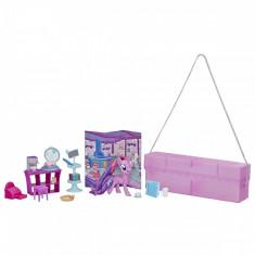 Set Hasbro My Little Pony, poseta cu ponei si accesorii, Twilight Sparkle