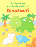 Dinozauri - Prima mea carte de colorat  , Litera