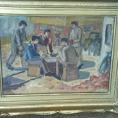Alexandru Ciucurencu 1934, Scene gen, Ulei, Altul