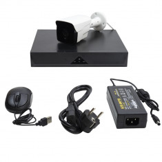 Aproape nou: Kit supraveghere video PNI House IPMAX POE 20 1080P - NVR IP ONVIF si