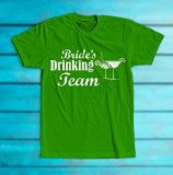 "Tricou ""Bride's drinking team"""