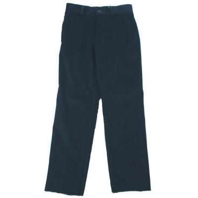 Pantaloni eleganti de catifea pentru baieti LA KIDS 1498N1, Negru foto