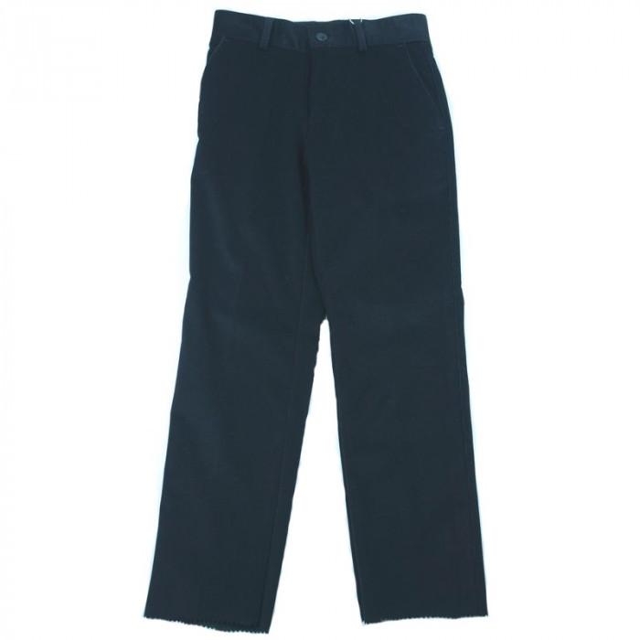 Pantaloni eleganti de catifea pentru baieti LA KIDS 1498N1, Negru